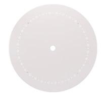 Table de Jardin Ronde 95cm Blanc mat 99€ | Salon d\'été