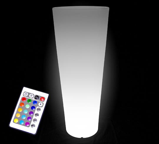 vase lumineux led h110cm sans fil 169 salon d 39 t. Black Bedroom Furniture Sets. Home Design Ideas