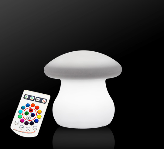 Veilleuse champignon lumineux led 20 cm rechargeable 45 - Veilleuse pour salon ...