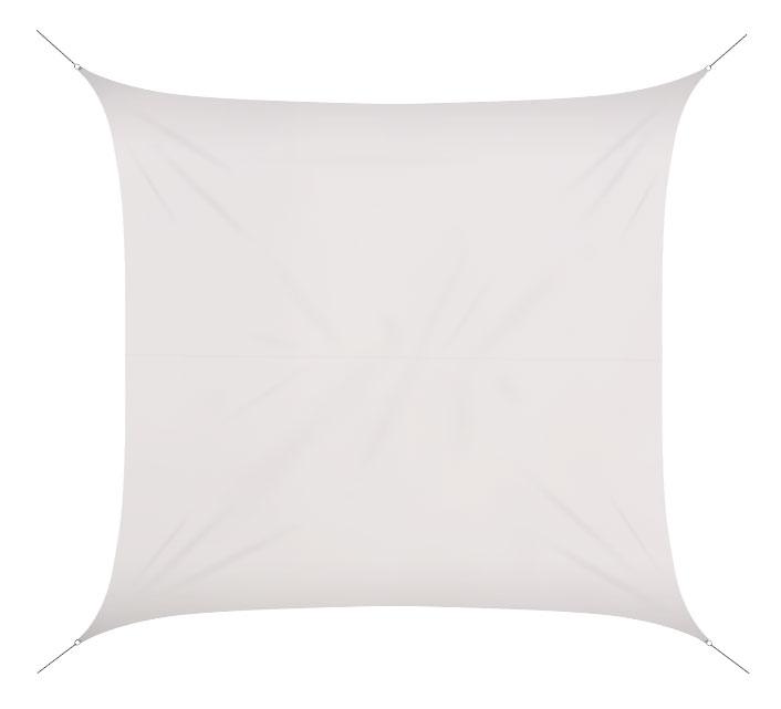 voile d 39 ombrage 5x5 m blanc glacier 180g m2 69 salon d 39 t. Black Bedroom Furniture Sets. Home Design Ideas