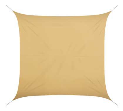 voile d 39 ombrage 5x5 m gris 180g m2 69 salon d 39 t. Black Bedroom Furniture Sets. Home Design Ideas