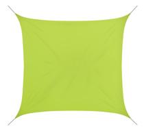 voile d 39 ombrage 4x4 m vert anis 180g m2 54 salon d 39 t. Black Bedroom Furniture Sets. Home Design Ideas