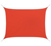 voile d 39 ombrage rectangulaire 5x4 m rouge brique 180g m2 58 salon. Black Bedroom Furniture Sets. Home Design Ideas