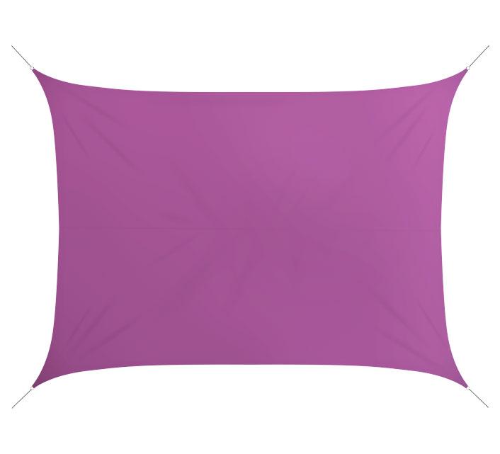 Voile D\'ombrage Rectangulaire 6x4 m Violet 180g/m2 76€ | Salon d\'été